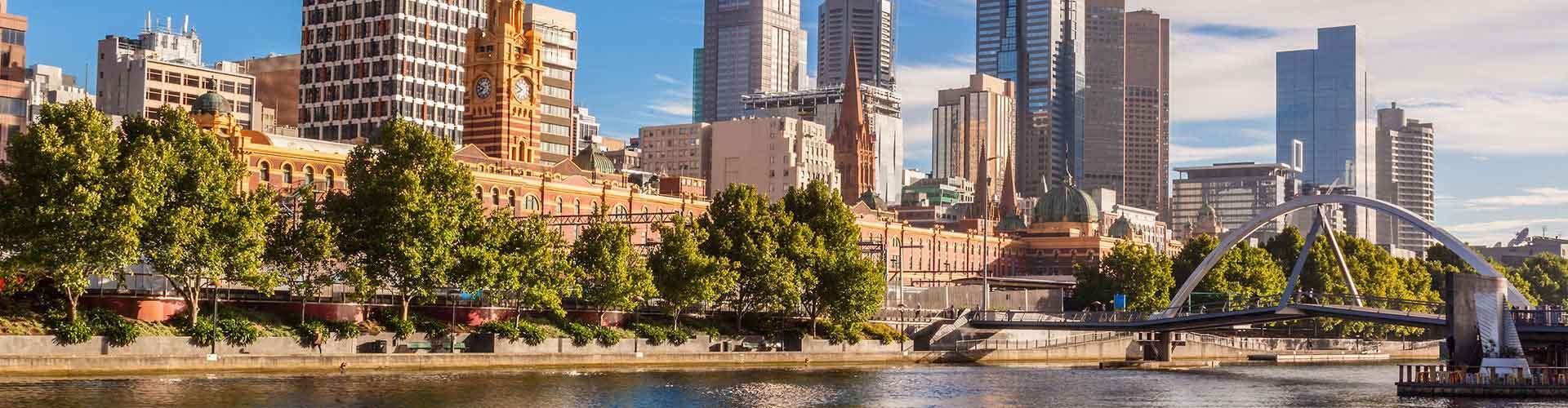 Melbourne - Zimmer in Melbournel. Karten für Melbourne. Fotos und Bewertungen für jedes Zimmer in Melbourne.