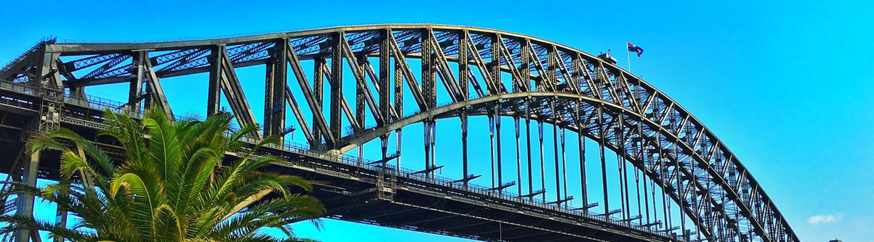 Sydney - Hotels nahe Sydney Harbour Bridge. Sydney auf der Karte. Fotos und Bewertungen für jedes Hotel in Sydney.