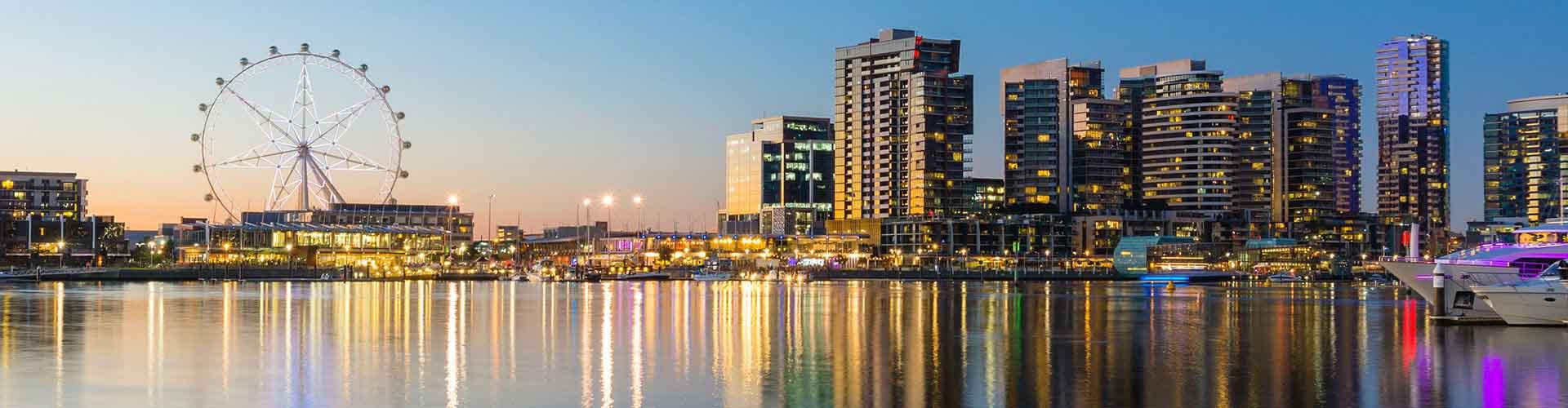 Melbourne - Hotels in Carlton. Melbourne auf der Karte. Fotos und Bewertungen für jedes Hotel in Melbourne.