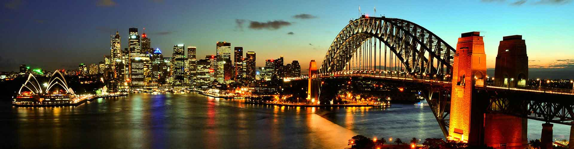 Sydney - Hostels in Kings Cove. Sydney auf der Karte. Fotos und Bewertungen für jedes Hostel in Sydney.