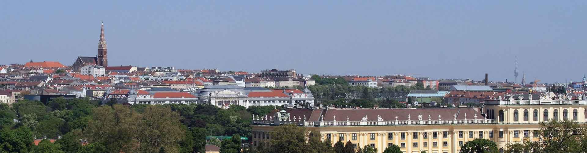 Wien - Jugendherbergen in Rudolfsheim-Fuenfhaus. Karten für Wien. Fotos und Bewertungen für jede Jugendherberge in Wien.