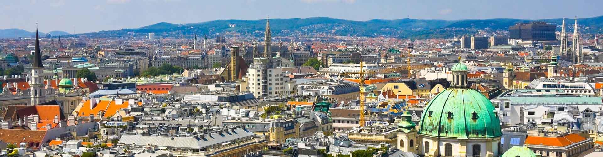 Wien – Hostels in Josefstadt Stadtteil. Karten für Wien. Fotos und Bewertungen für jedes Hostel in Wien.