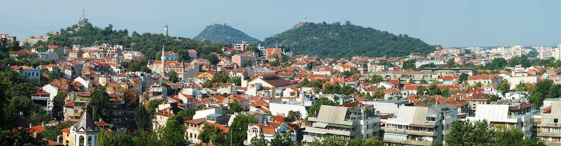 Plovdiv – Hostels in Centyra Stadtteil. Karten für Plovdiv. Fotos und Bewertungen für jedes Hostel in Plovdiv.