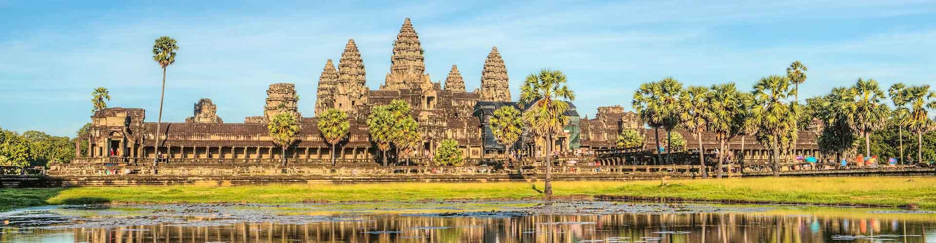 Siem Reap – Hostels in Siem Reap. Karten für Siem Reap. Fotos und Bewertungen für jedes Hostel in Siem Reap.