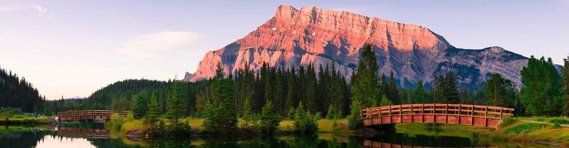 Banff – Studentenunterkünfte, Hostels und Büroräume in Banff (Kanada). Karte von Banff, Fotos und Rezensionen von Studentenunterkünften, Hostels und Büroräumen in Banff.