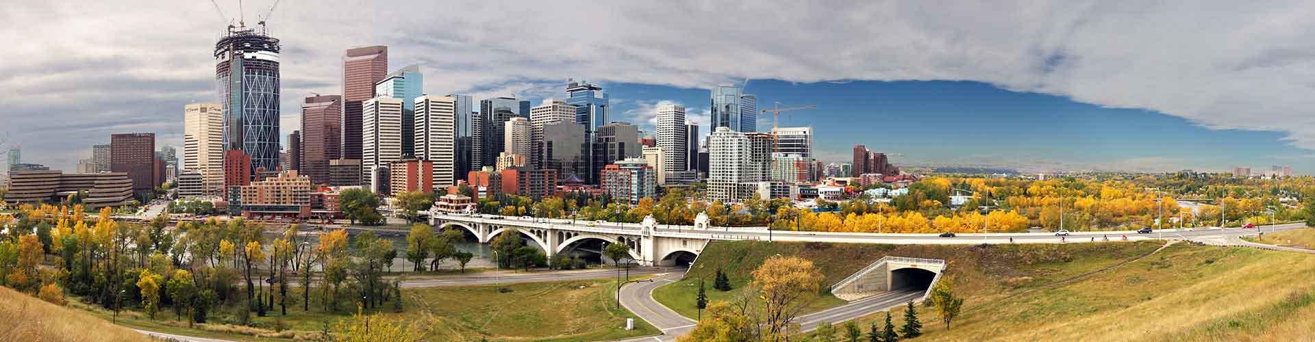 Calgary – Hostels in Evanston Stadtteil. Karten für Calgary. Fotos und Bewertungen für jedes Hostel in Calgary.