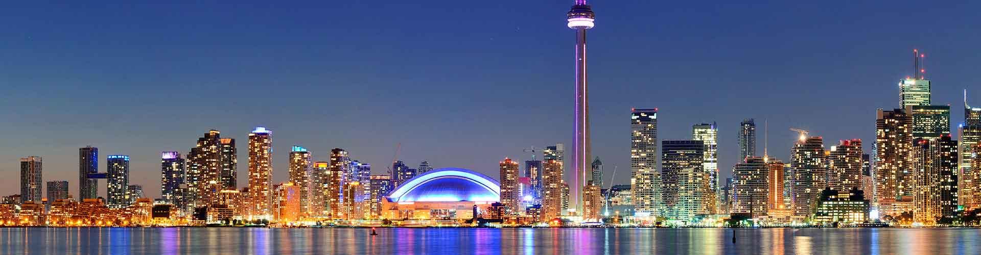 Toronto - Hotels nahe Stadtzentrum. Toronto auf der Karte. Fotos und Bewertungen für jedes Hotel in Toronto.
