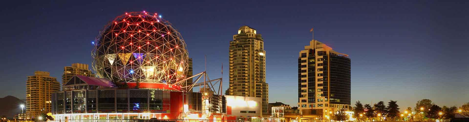 Vancouver – Studentenunterkünfte, Hostels und Büroräume in Vancouver (Kanada). Karte von Vancouver, Fotos und Rezensionen von Studentenunterkünften, Hostels und Büroräumen in Vancouver.