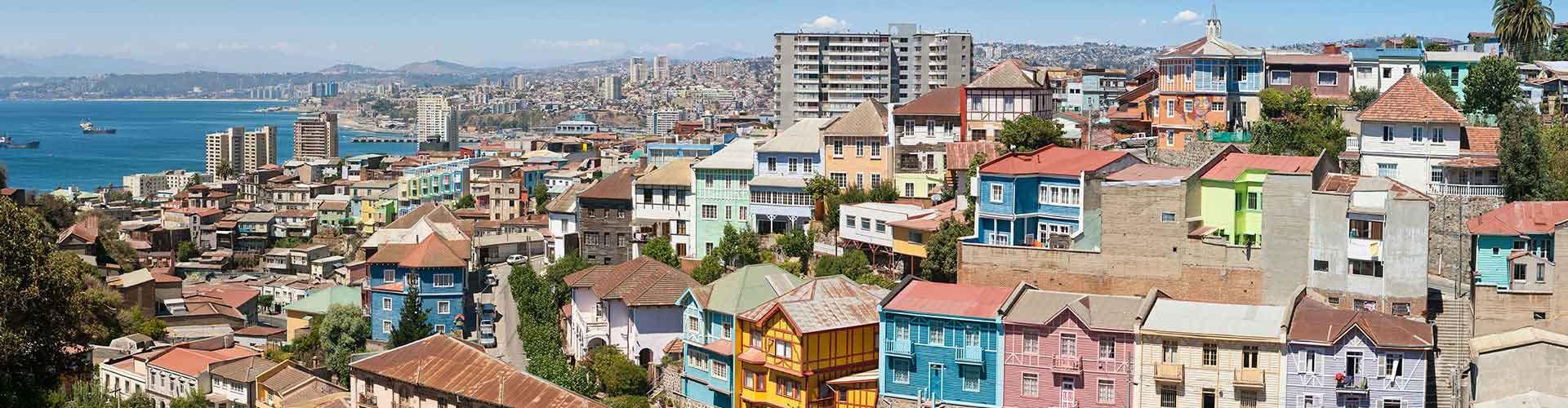 Valparaiso – Hostels in Valparaiso. Valparaiso auf der Karte. Fotos und Bewertungen für jedes Hostel in Valparaiso.