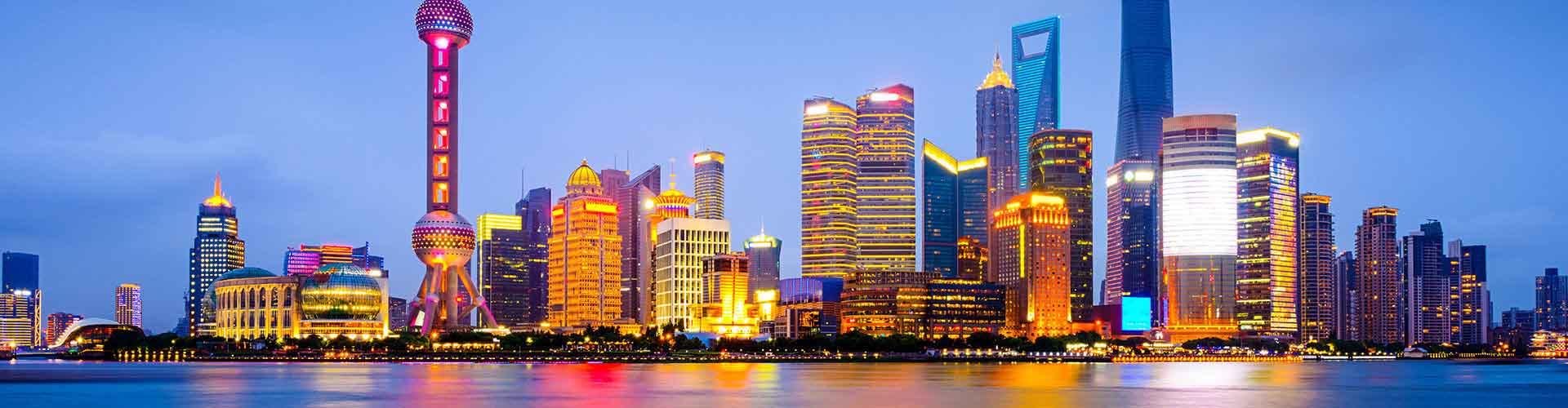 Shanghai – Hostels in der Nähe von Stadtzentrum. Shanghai auf der Karte. Fotos und Bewertungen für jedes Hostel in Shanghai.