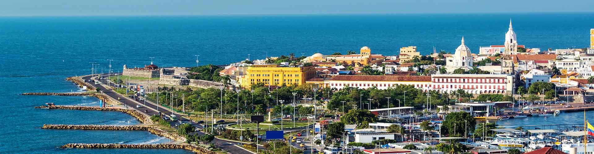 Cartagena – Hostels in Cartagena. Cartagena auf der Karte. Fotos und Bewertungen für jedes Hostel in Cartagena.