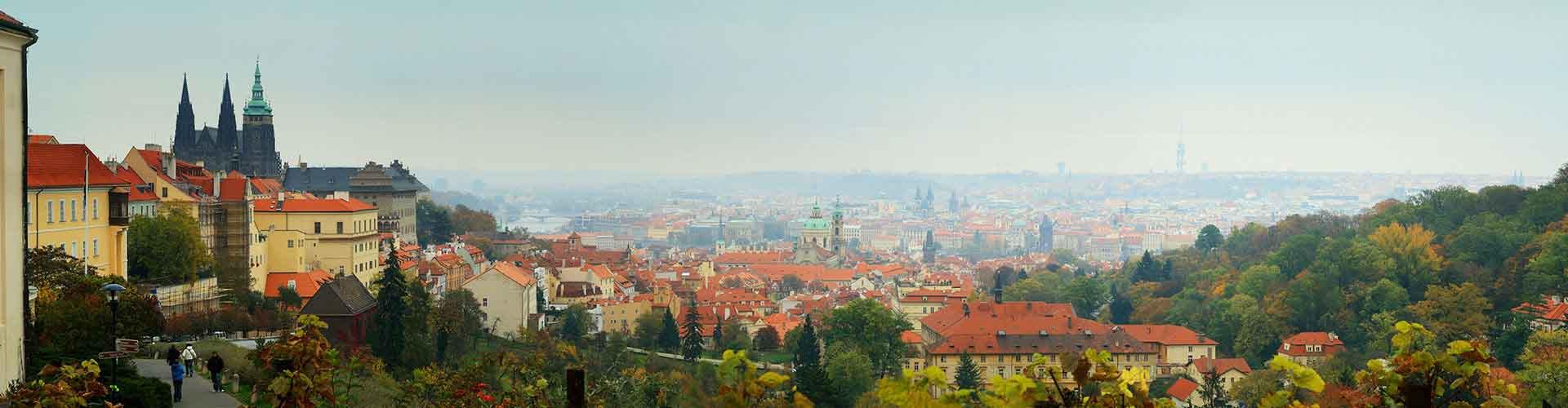Prag – Hostels im Stadtteil Prag 3. Prag auf der Karte. Fotos und Bewertungen für jedes Hostel in Prag.
