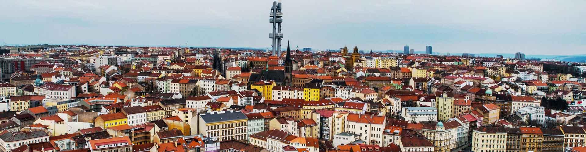 Prag – Hostels im Stadtteil Zizkov. Prag auf der Karte. Fotos und Bewertungen für jedes Hostel in Prag.