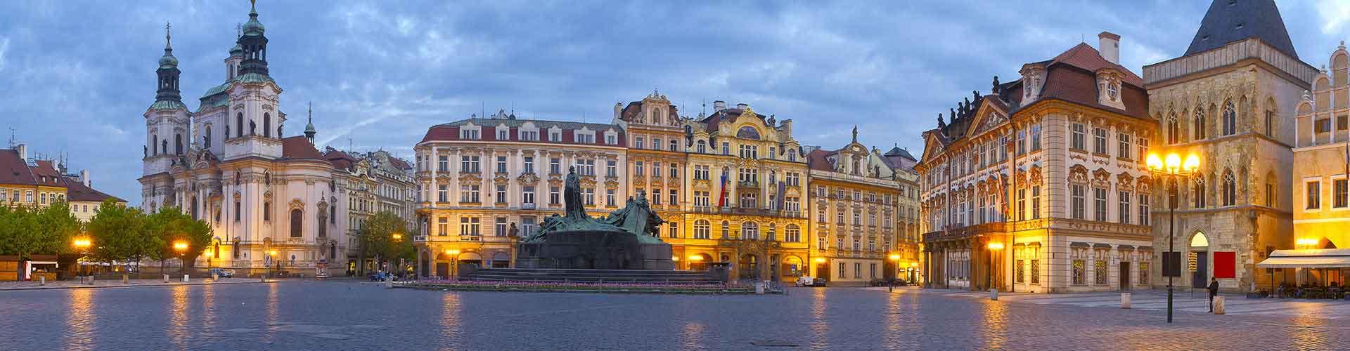 Prag - Hostels nahe City Center. Karten für Prag. Fotos und Bewertungen für jedes Hostel in Prag.