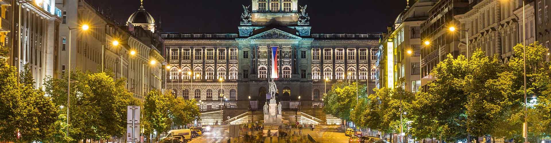 Prag – Hostels in der Nähe von National Museum und Hotel Europa. Prag auf der Karte. Fotos und Bewertungen für jedes Hostel in Prag.