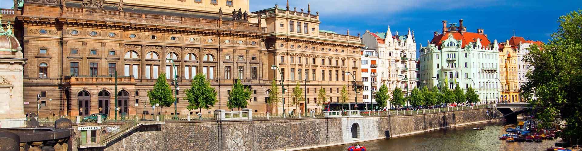 Prag – Hostels in der Nähe von Nationaltheater. Prag auf der Karte. Fotos und Bewertungen für jedes Hostel in Prag.
