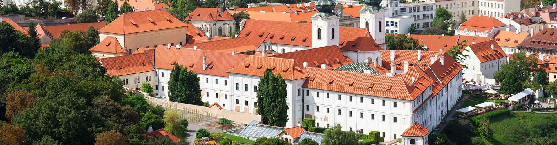 Prag – Hostels in der Nähe von Kloster Strahov. Prag auf der Karte. Fotos und Bewertungen für jedes Hostel in Prag.