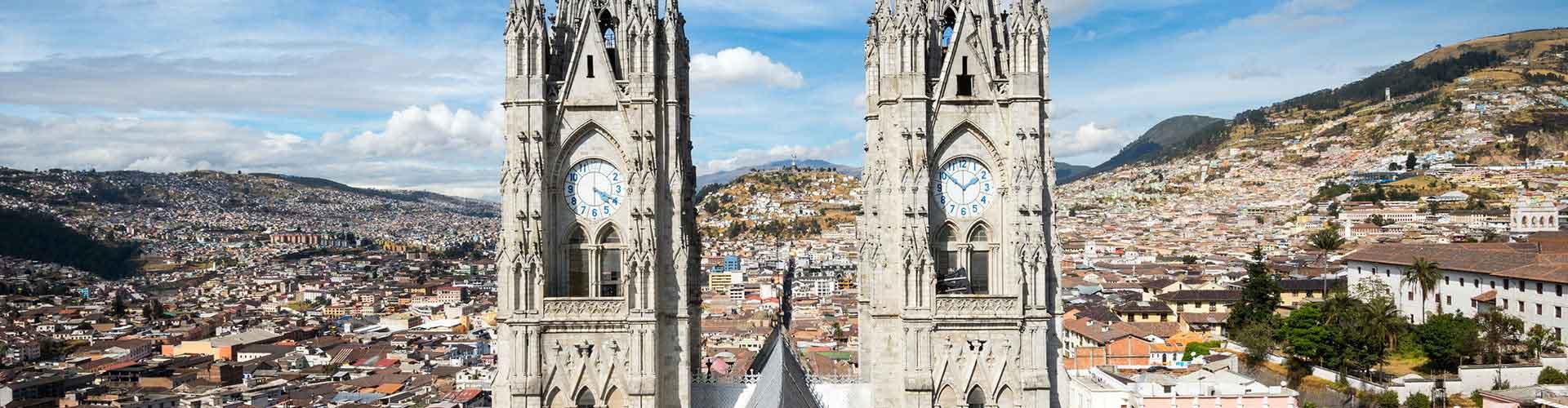 Quito – Hostels in Quito. Quito auf der Karte. Fotos und Bewertungen für jedes Hostel in Quito.
