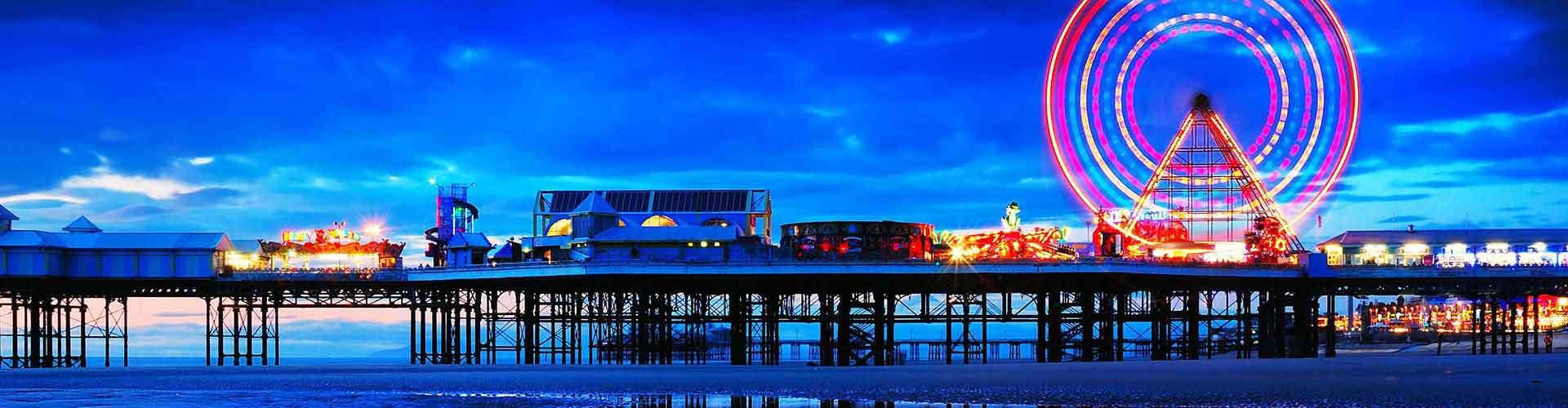 Blackpool - Zimmer nahe Blackpool Nordbahnhof. Blackpool auf der Karte. Fotos und Bewertungen für jedes Zimmer in Blackpool.