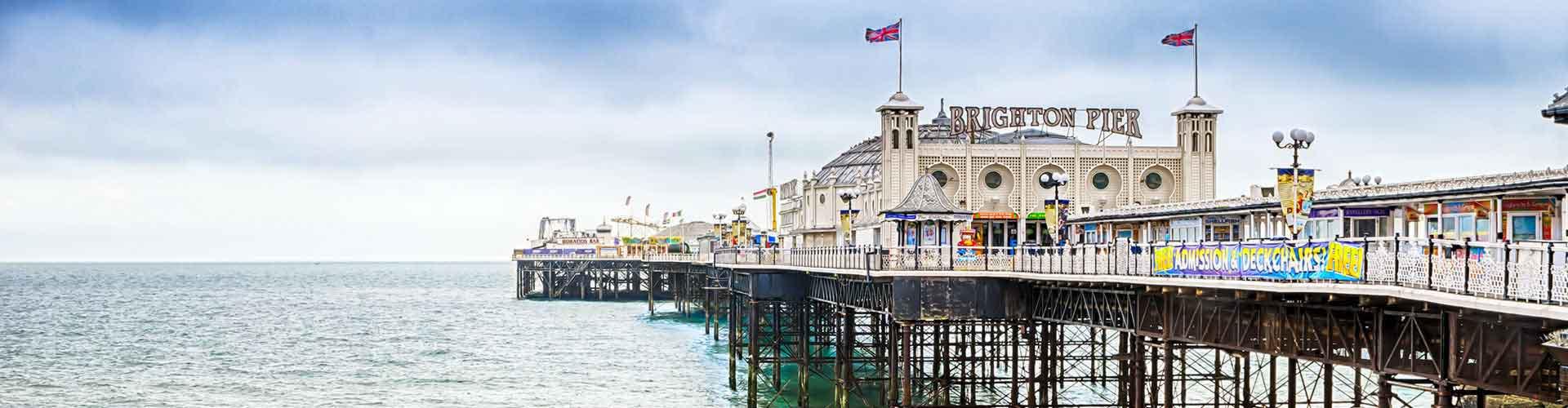 Brighton - Zimmer nahe Brighton Bahnhof. Brighton auf der Karte. Fotos und Bewertungen für jedes Zimmer in Brighton.