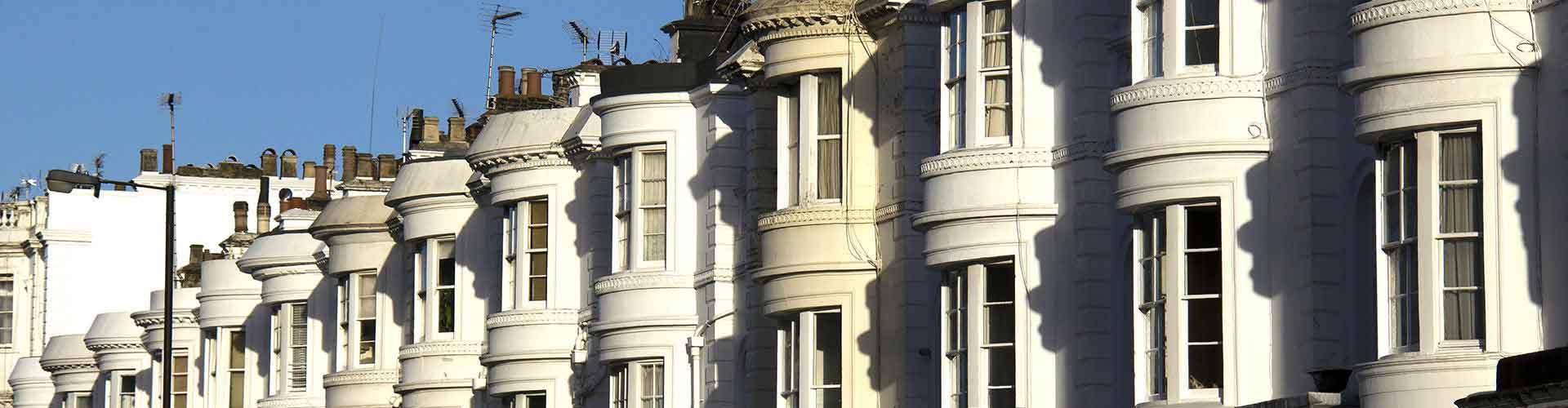 London – Hostels im Stadtteil Bayswater. London auf der Karte. Fotos und Bewertungen für jedes Hostel in London.