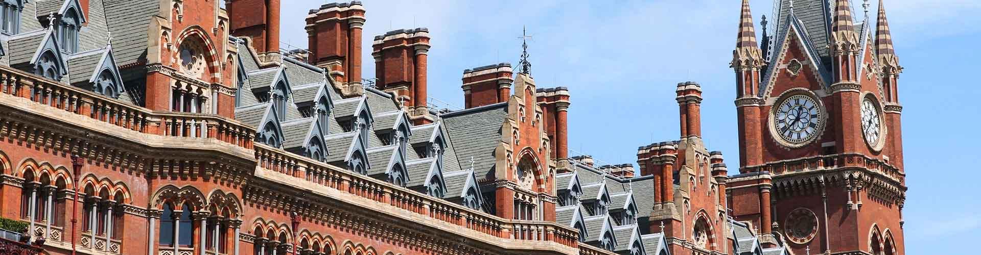 London – Hostels im Stadtteil Borough of Camden. London auf der Karte. Fotos und Bewertungen für jedes Hostel in London.