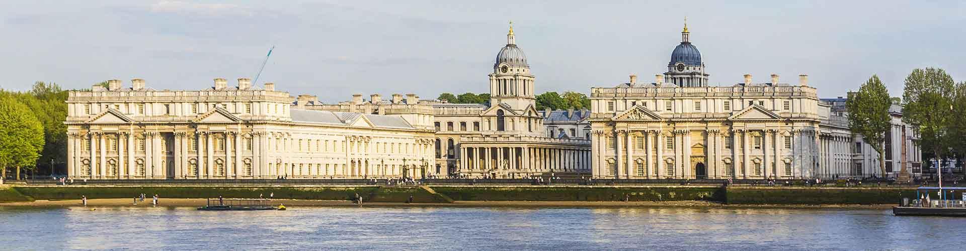 London – Hostels im Stadtteil Borough of Greenwich. London auf der Karte. Fotos und Bewertungen für jedes Hostel in London.