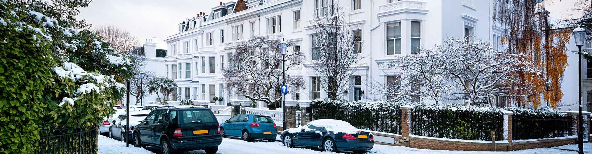 London – Hostels im Stadtteil Borough of Kensington und Chelsea. London auf der Karte. Fotos und Bewertungen für jedes Hostel in London.