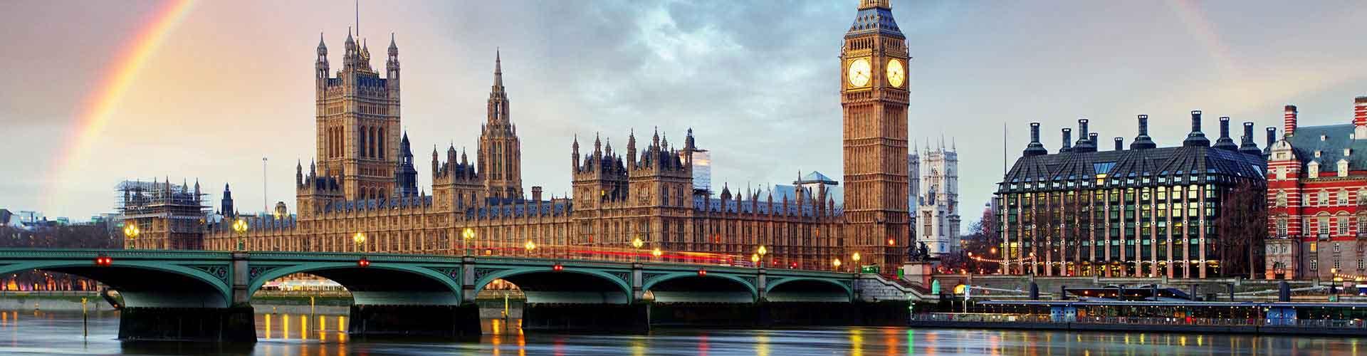 London – Hostels im Stadtteil Borough of Westminster. London auf der Karte. Fotos und Bewertungen für jedes Hostel in London.