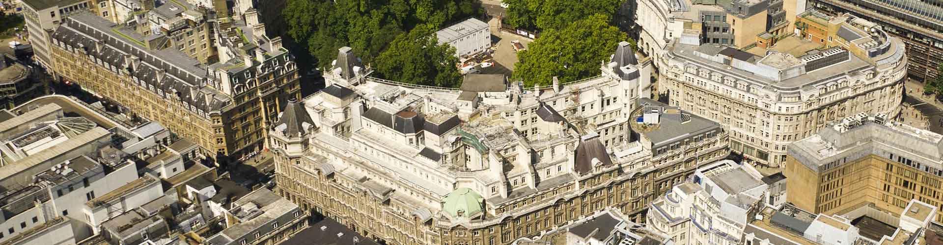 London – Hostels im Stadtteil Finsbury. London auf der Karte. Fotos und Bewertungen für jedes Hostel in London.