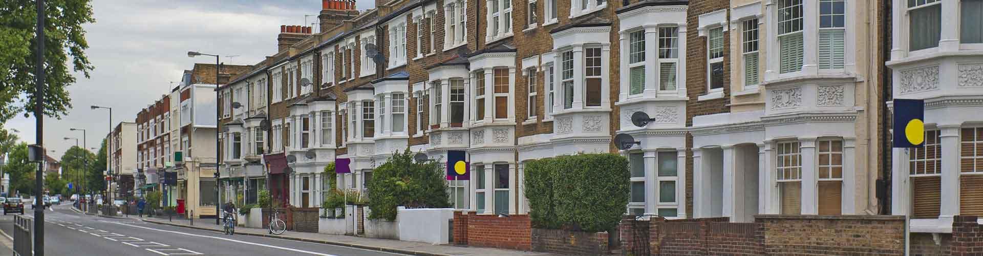 London – Hostels im Stadtteil Fulham. London auf der Karte. Fotos und Bewertungen für jedes Hostel in London.