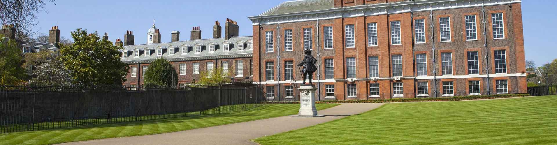 London – Hostels im Stadtteil Kensington. London auf der Karte. Fotos und Bewertungen für jedes Hostel in London.