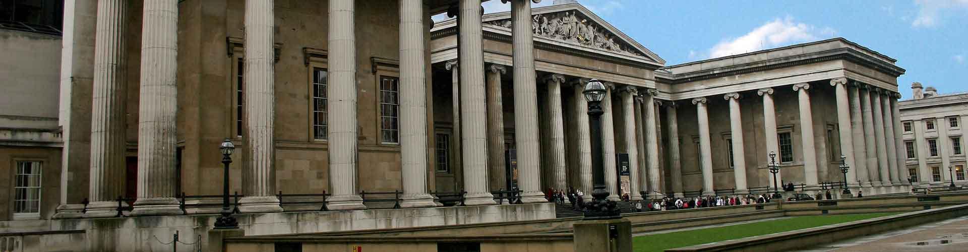 London – Hostels in der Nähe von Britisches Museum. London auf der Karte. Fotos und Bewertungen für jedes Hostel in London.