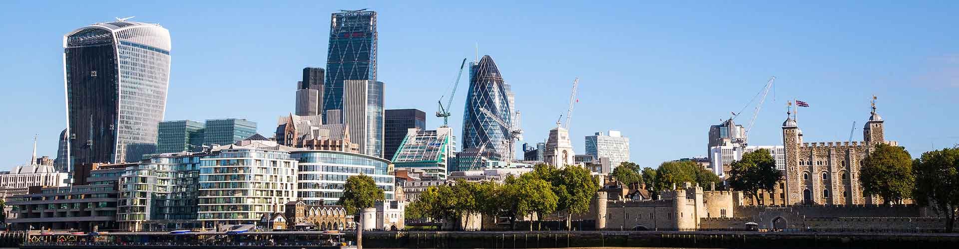 London – Hostels in der Nähe von Stadtzentrum. London auf der Karte. Fotos und Bewertungen für jedes Hostel in London.