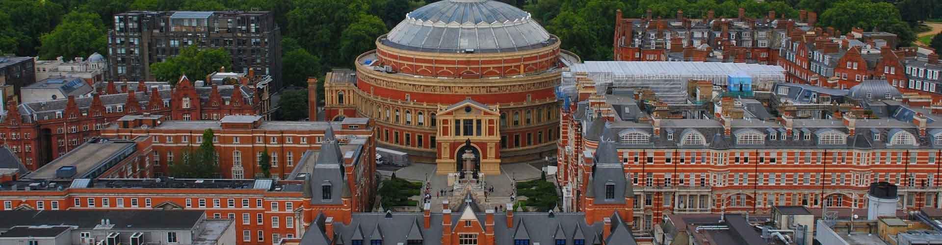 London – Hostels in der Nähe von Royal Albert Hall. London auf der Karte. Fotos und Bewertungen für jedes Hostel in London.