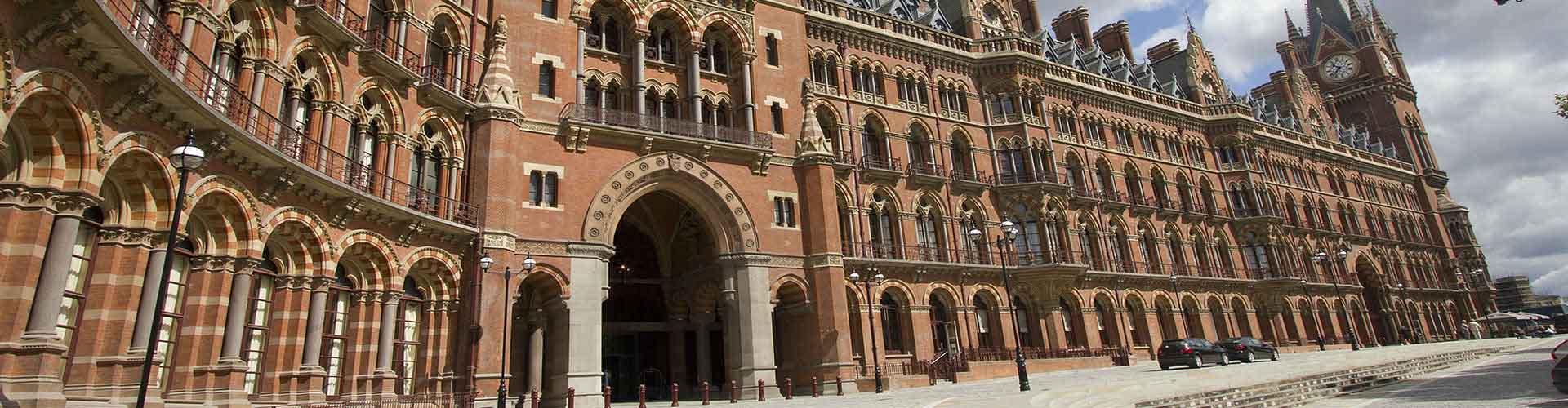 London - Hostels nahe St Pancras Bahnhof. London auf der Karte. Fotos und Bewertungen für jedes Hostel in London.