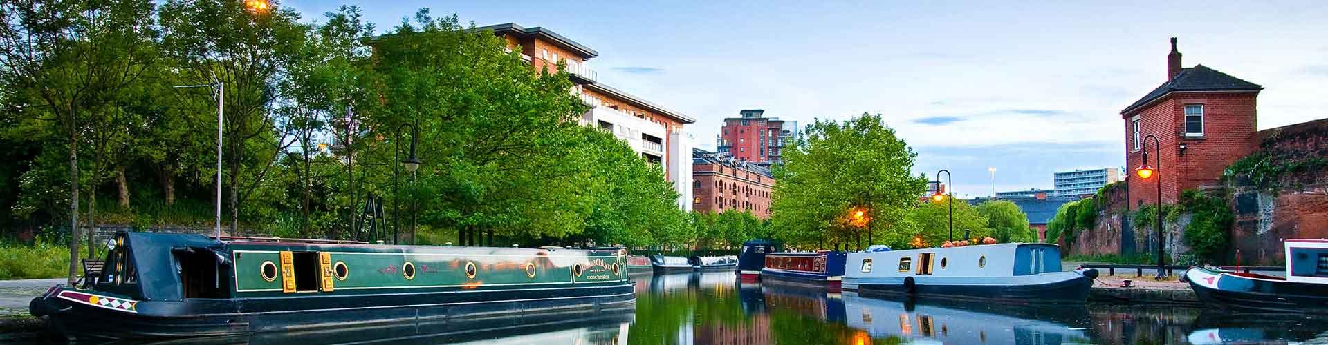 Manchester - Zimmer nahe Stadtzentrum. Manchester auf der Karte. Fotos und Bewertungen für jedes Zimmer in Manchester.