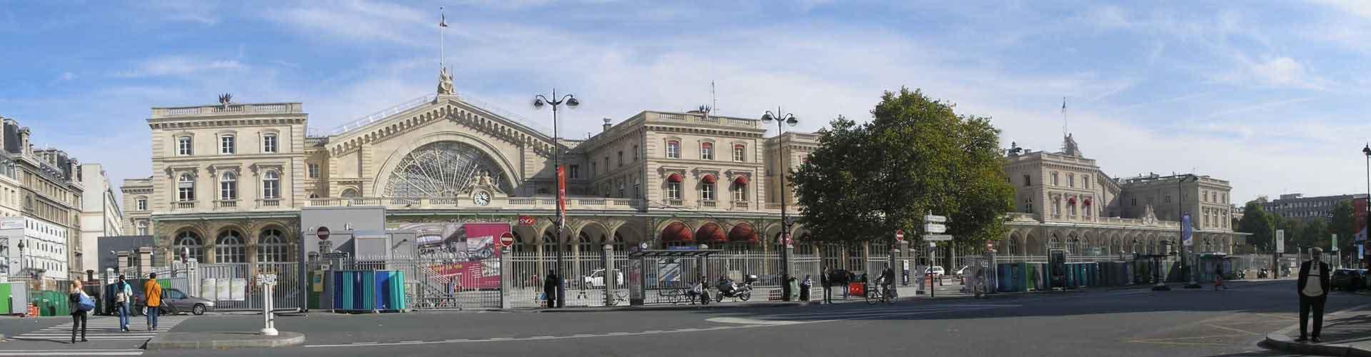 Paris – Hostels im Stadtteil Zehnter Bezirk. Paris auf der Karte. Fotos und Bewertungen für jedes Hostel in Paris.
