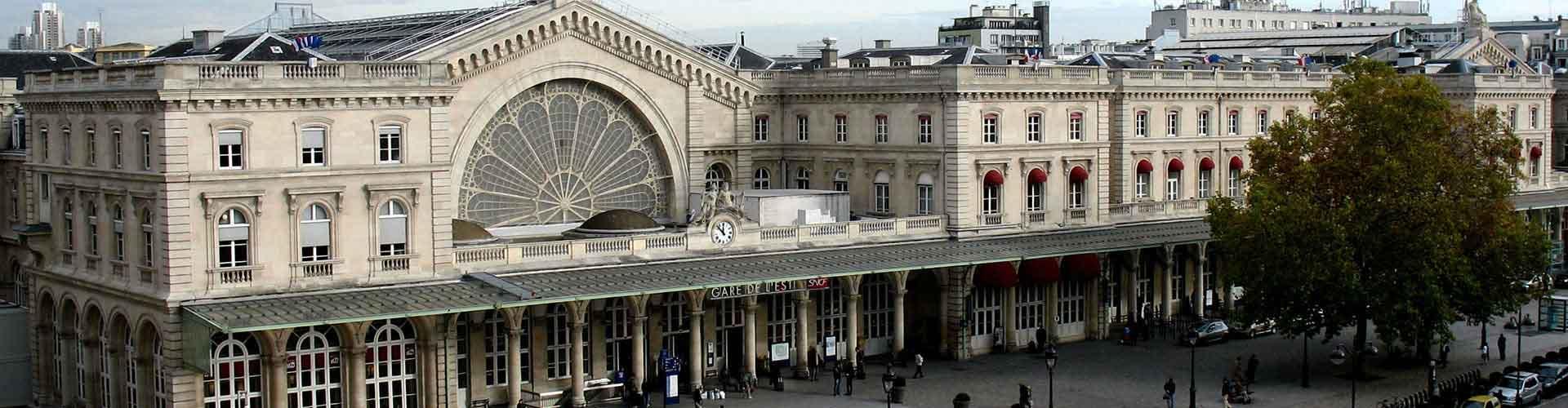 Paris – Hostels im Stadtteil Gare de l'Est. Paris auf der Karte. Fotos und Bewertungen für jedes Hostel in Paris.
