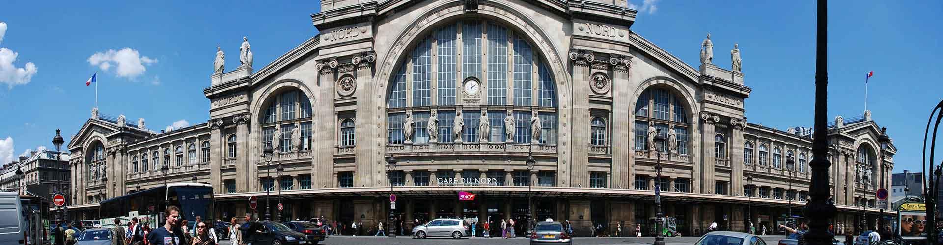 Paris – Hostels im Stadtteil Nordbahnhof. Paris auf der Karte. Fotos und Bewertungen für jedes Hostel in Paris.