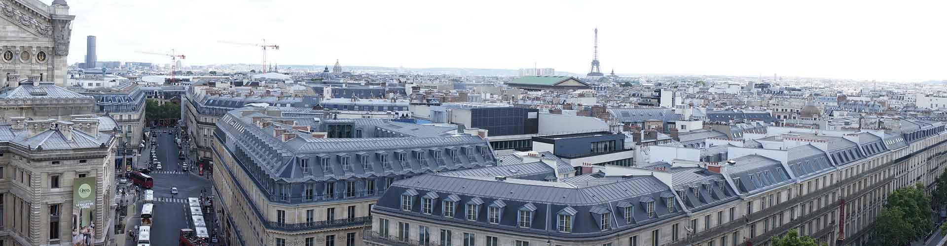 Paris – Hostels in der Nähe von Galerie Lafayette. Paris auf der Karte. Fotos und Bewertungen für jedes Hostel in Paris.