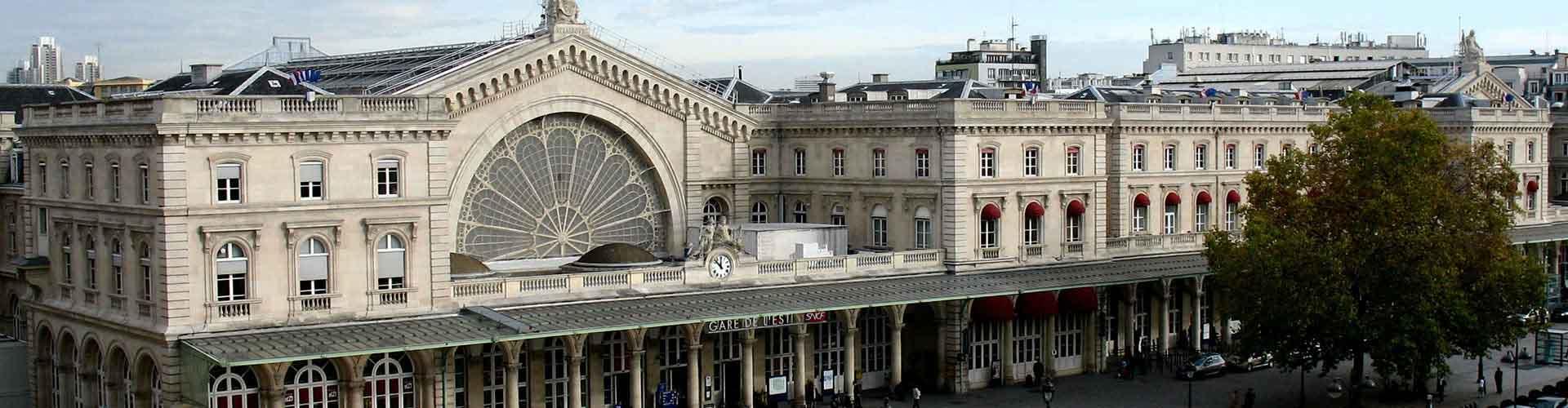 Paris - Hostels nahe Gare de l'Est railway station. Paris auf der Karte. Fotos und Bewertungen für jedes Hostel in Paris.
