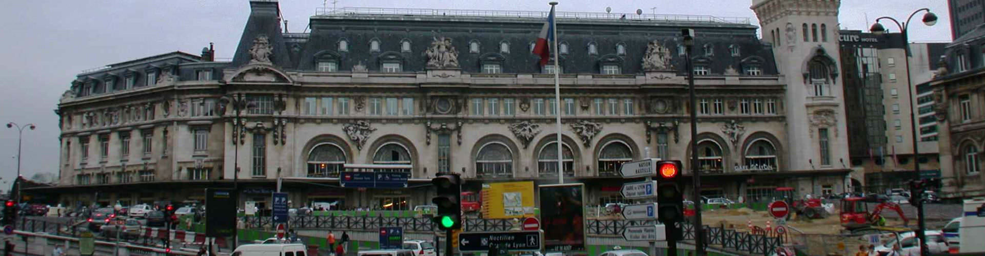 Paris - Hostels nahe Bahnhof Gare de Lyon. Paris auf der Karte. Fotos und Bewertungen für jedes Hostel in Paris.