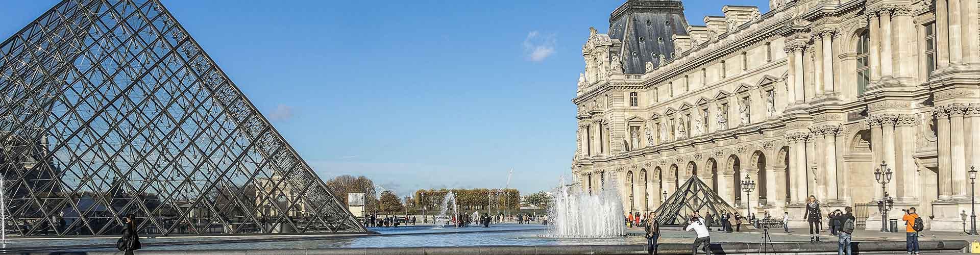 Paris – Hostels in der Nähe von Jalousie. Paris auf der Karte. Fotos und Bewertungen für jedes Hostel in Paris.