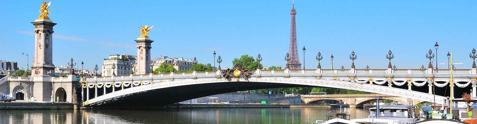 Paris – Hostels in der Nähe von Pont Alexandre III. Paris auf der Karte. Fotos und Bewertungen für jedes Hostel in Paris.