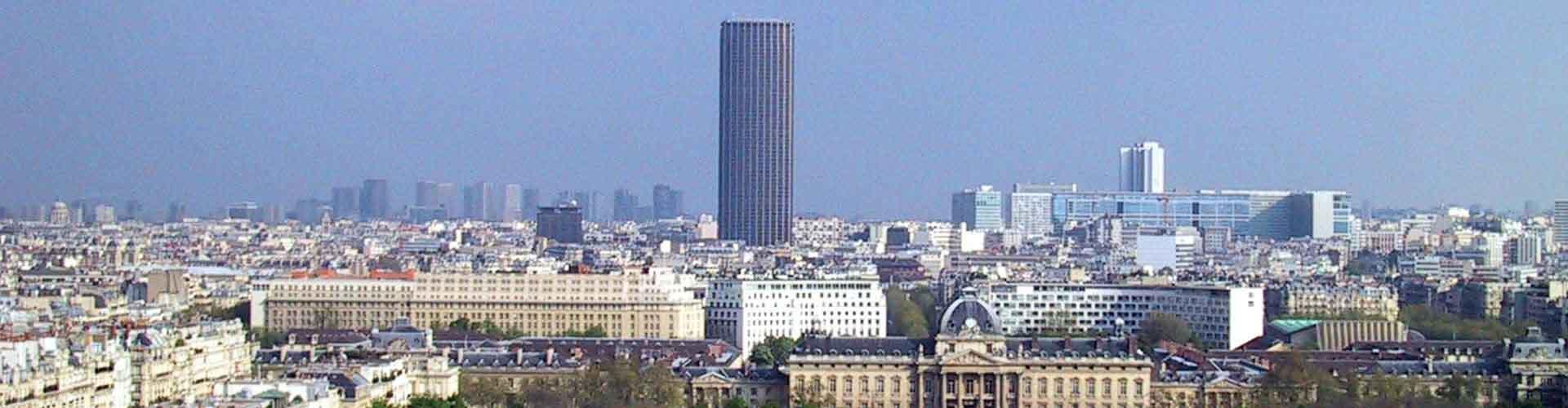 Paris – Hostels in der Nähe von Tour Montparnasse. Paris auf der Karte. Fotos und Bewertungen für jedes Hostel in Paris.