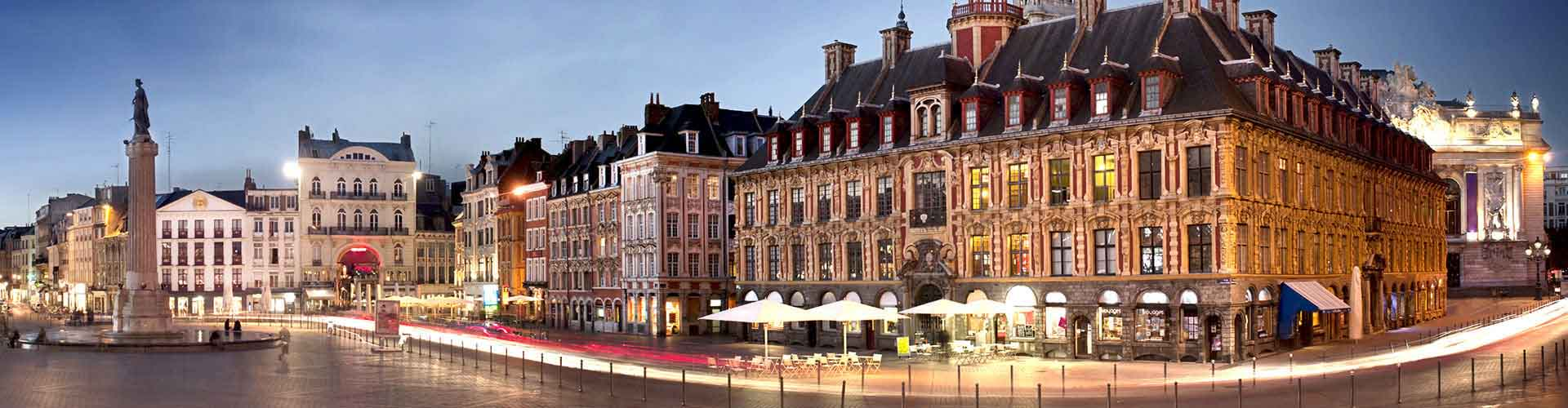 Lille - Apartments nahe Bahnhof Gare de Lille-Flandres. Lille auf der Karte. Fotos und Bewertungen für jedes Apartment in Lille.