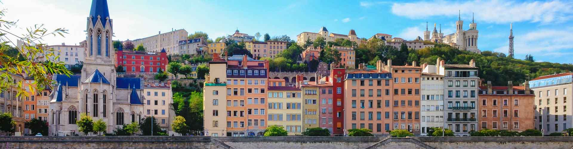 Lyon - Jugendherbergen in Lyon. Lyon auf der Karte. Fotos und Bewertungen für jede Jugendherberge in Lyon.
