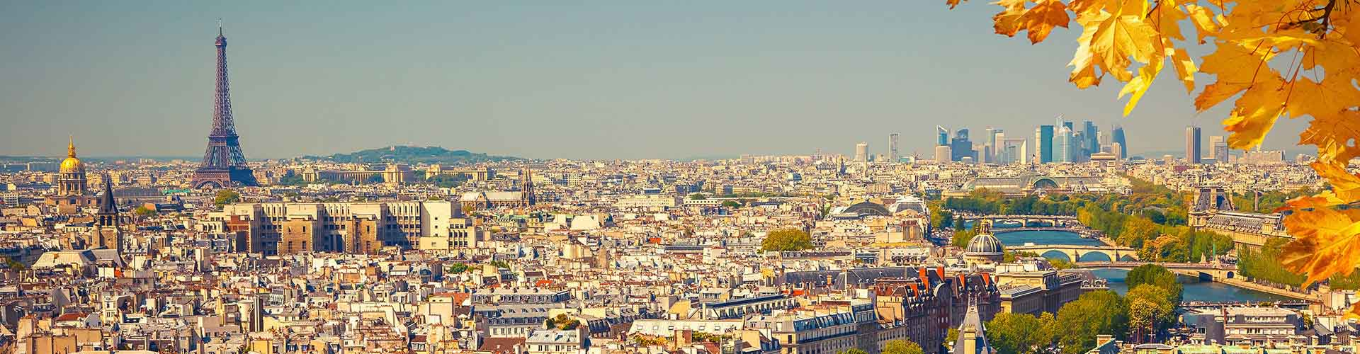 Paris – Hostels in der Nähe von Stadtzentrum. Paris auf der Karte. Fotos und Bewertungen für jedes Hostel in Paris.