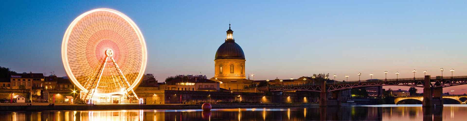 Toulouse – Hostels in Toulouse. Toulouse auf der Karte. Fotos und Bewertungen für jedes Hostel in Toulouse.